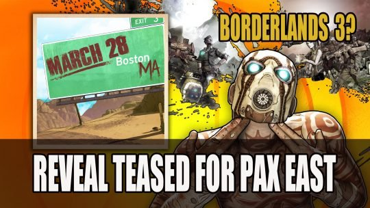 Borderlands 3 Reveal Teased for PAX East