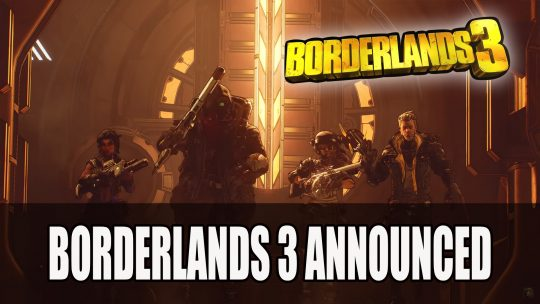 Gearbox Officially Unveils Borderlands 3