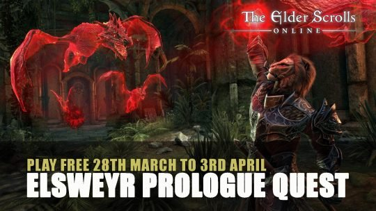 Elder Scrolls Online Elsweyr Prologue Quests and Play Free
