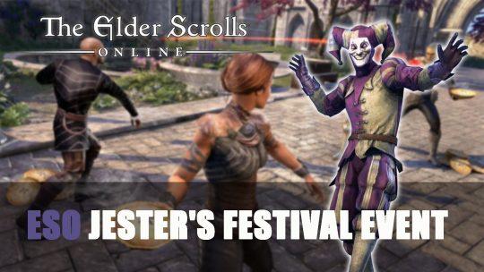 Elder Scrolls Online Jester's Festival Event Returns