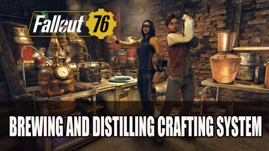 Bethesda to Add New Booze Crafting System to Fallout 76