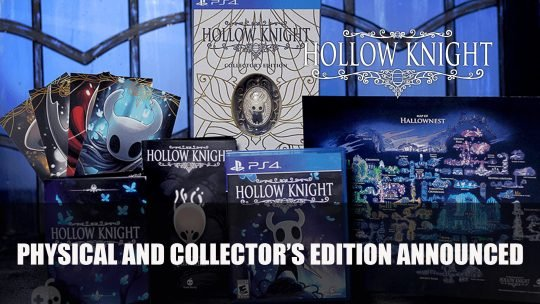 Hollow Knight's Physical Release Is Back with a Fancy Collector's Edition