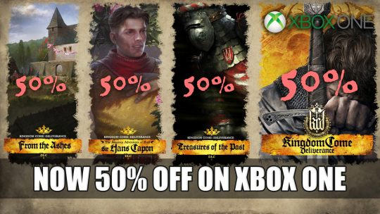 Kingdom Come Deliverance and DLCs are Now 50% Off on Xbox One