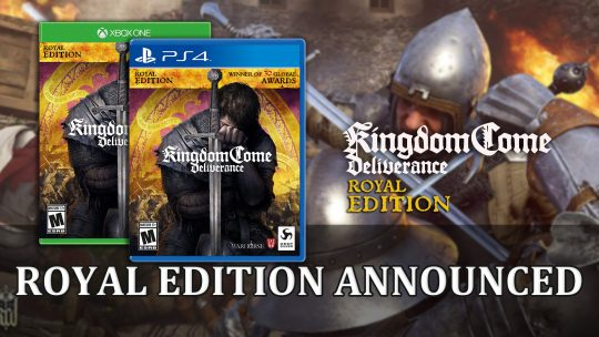 Kingdom Come: Deliverance Royal Edition Releases May 28th