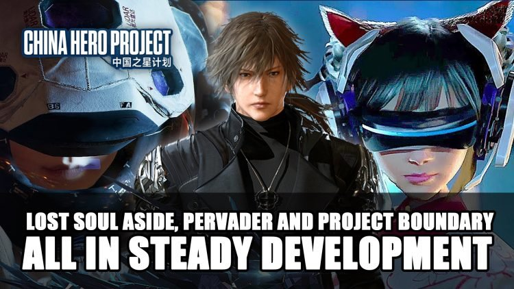 Lost Soul Aside, Pervader and Project Boundary All in Steady Development