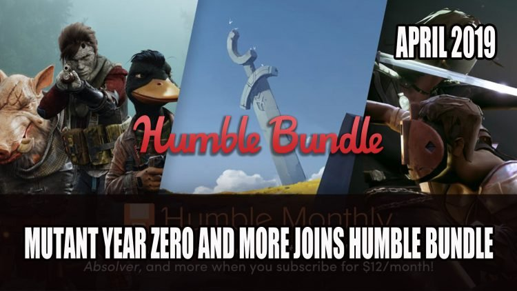 Mutant Year Zero and Absolver Joins Humble Bundle for April