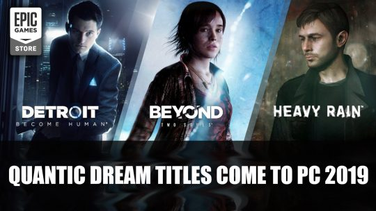 Detroit Become Human, Heavy Rain and Beyond are Coming to PC