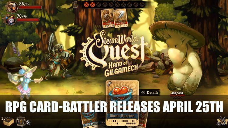 SteamWorld Quest RPG Card-Battler gets April Release Date for Switch