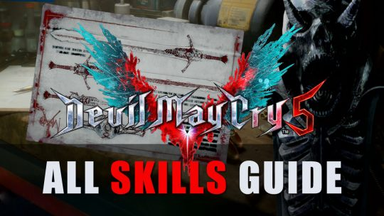 Devil May Cry 5 All Skills & Costs