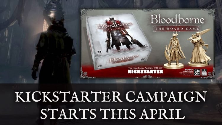 Bloodborne: The Board Game Kickstarter Campaign Starts April 23rd