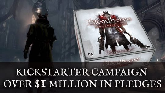 Bloodborne: The Board Game Kickstarter Has Over $1 Million in Pledges Already