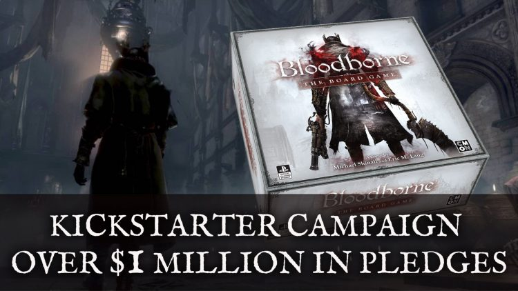 Bloodborne: The Board Game Kickstarter Has Over $1 Million