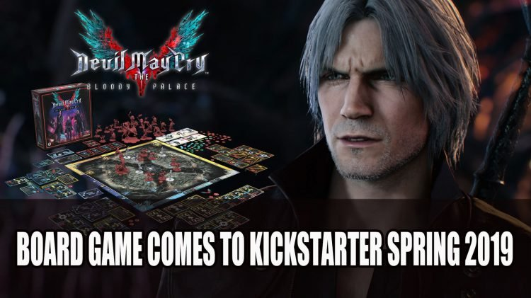 Devil May Cry Will Get Its Own Board Game on Kickstarter