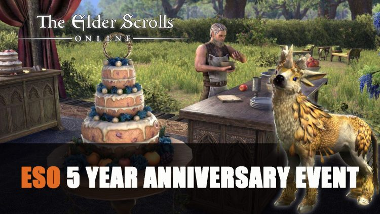 Elder Scrolls Online Celebrates Turning 5 Years Old with 5