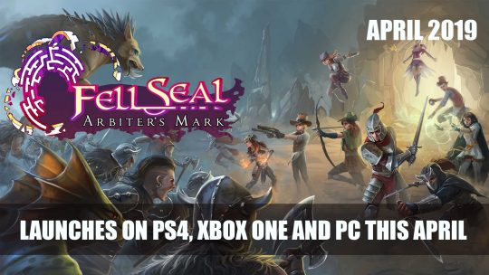 Tactical RPG Fell Seal: Arbiter's Mark Launches on PS4, Xbox One and PC on April 30th