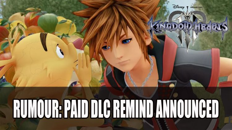 Rumour: Kingdom Hearts 3 ReMIND DLC Announced
