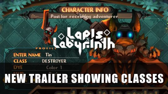 Lapis x Labyrinth Gets a New Trailer Showing Classes