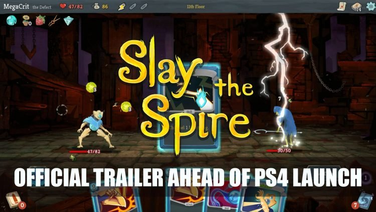 Slay the Spire Releases Official Trailer Ahead of PS4 Launch