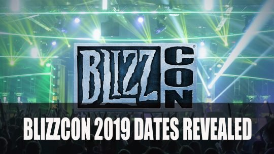 BlizzCon 2019 Dates Announced Along with Collectibles