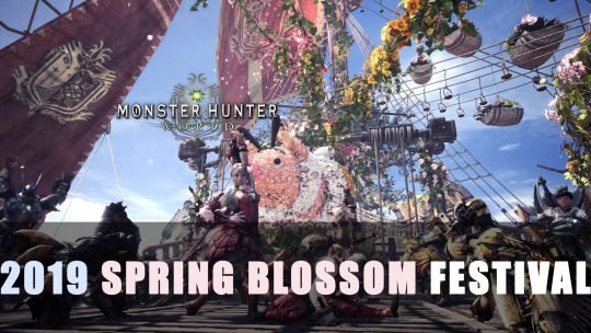 Monster Hunter World: Spring Blossom Festival 2019 Contents