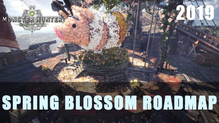Monster Hunter World: Spring Blossom Festival Roadmap 2019