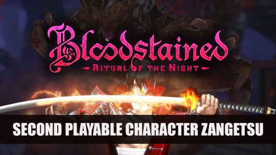 Bloodstained: Ritual of the Night Adds Playable Character Zangetsu