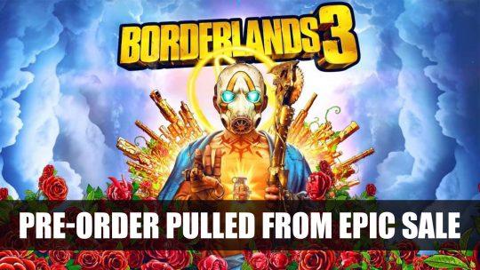 Borderlands 3 Pre-Order Pulled From Epic Game Store During Mega Sale