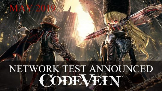Code Vein Closed Network Test Announced