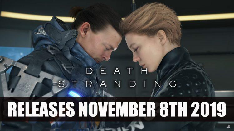 Death Stranding Releases November 8th