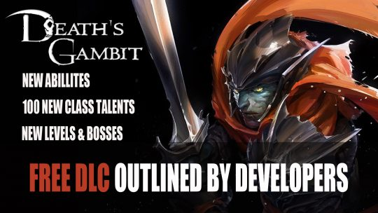 "Death's Gambit DLC Makes Progress With Most Content ""Now Playable"" According to the Developer"