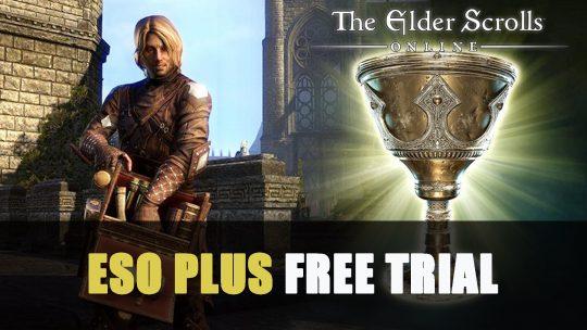 Elder Scrolls Online Plus Free Trial