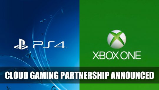 Microsoft and Sony Announces Cloud Gaming Partnership