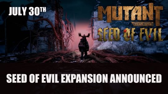 Mutant Year Zero: Road to Eden – Seed of Evil Expansion, Physical Release and Nintendo Switch Version Delayed