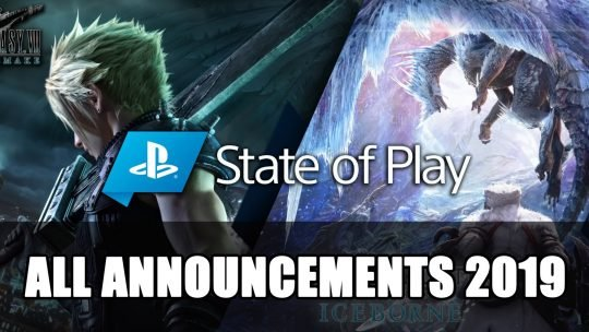 State of Play 2019 All Announcements
