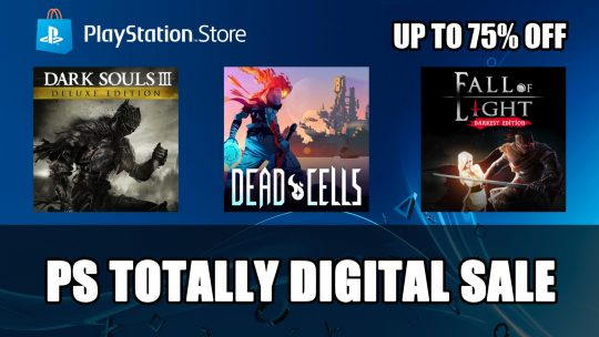 PS Store US Totally Digital Sale Includes Dark Souls III, Undertale and More!