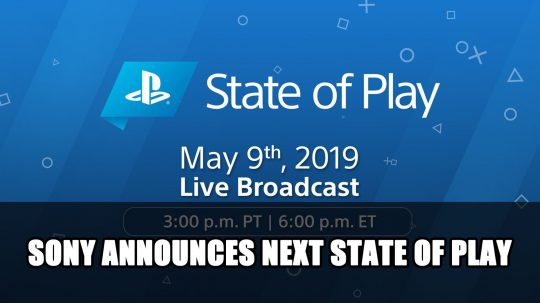 State of Play Announced for May 9th Featuring MediEvil and More