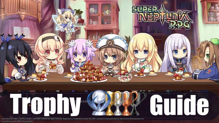 Super Neptunia RPG Trophy Guide & Roadmap