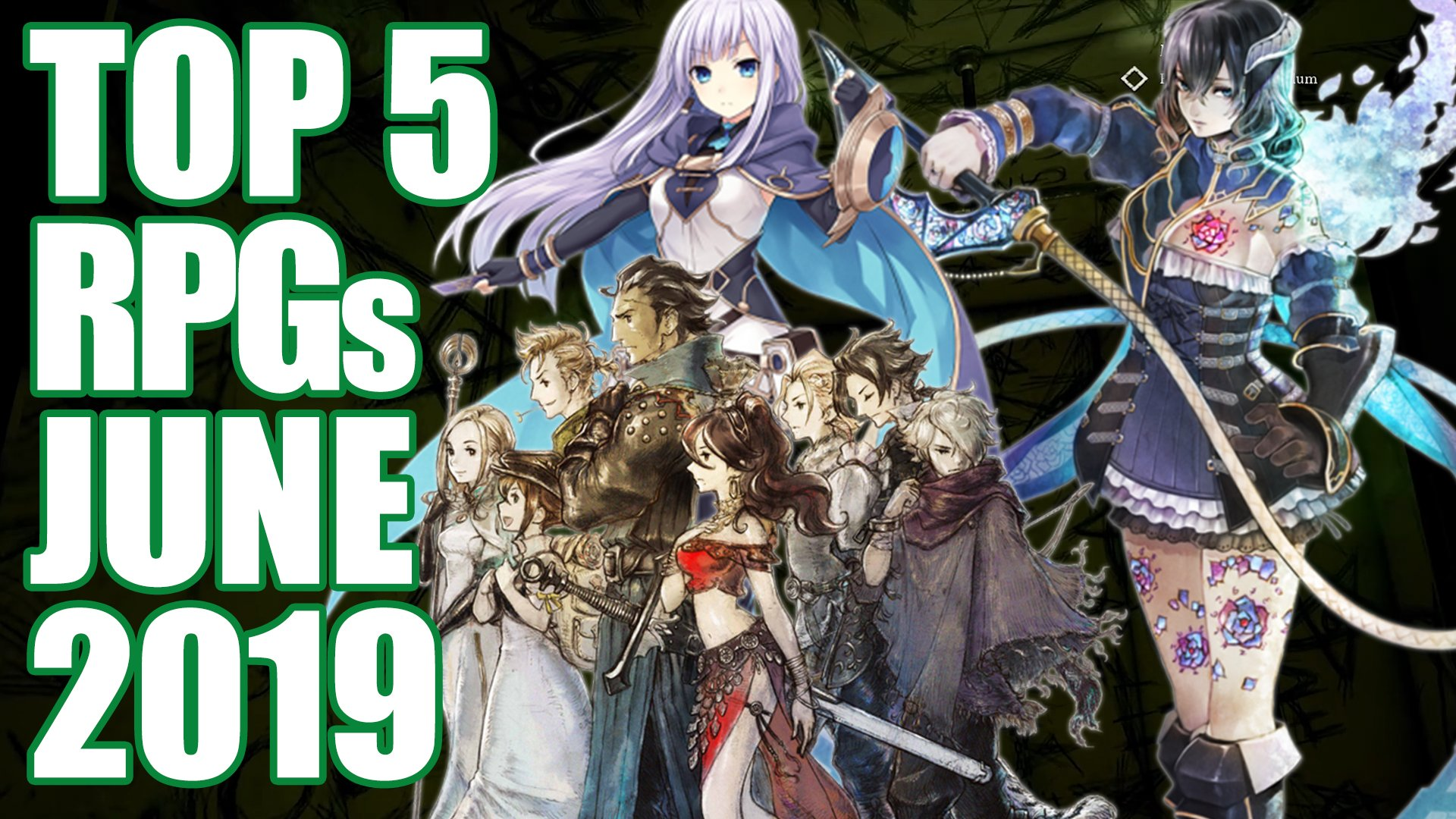 Top 5 Upcoming Rpgs Of June 2019 Bloodstained Warhammer And More