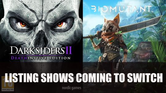 EB Games in Canada Lists Darksiders II Deathinitive Edition and Biomutant for Switch