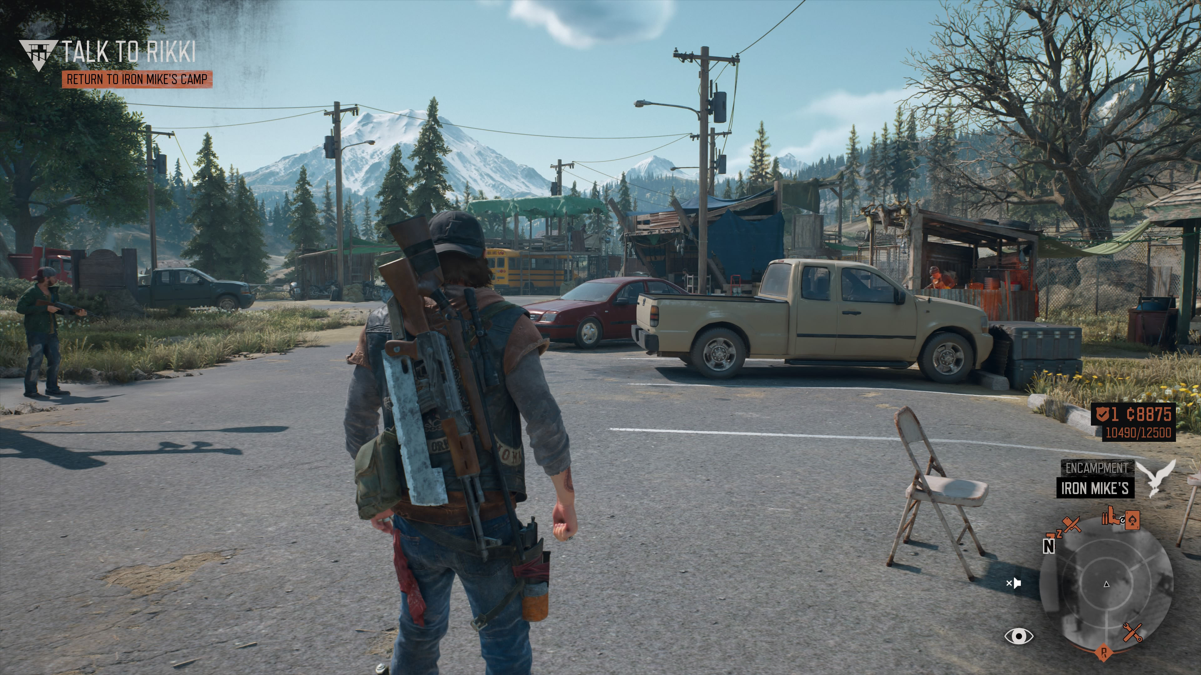 Days Gone Graphics