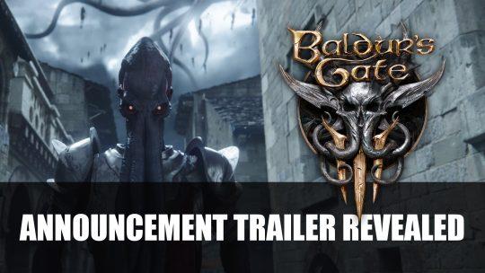 Baldur's Gate 3 Confirmed by Larian