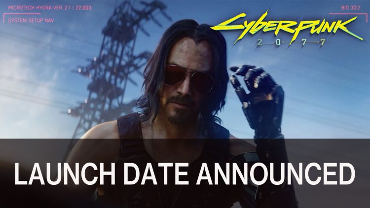 Cyberpunk 2077 Launch Date Announced and Pre-Orders