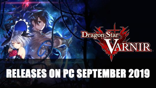 Dragon Star Varnir is Coming to PC in September 2019