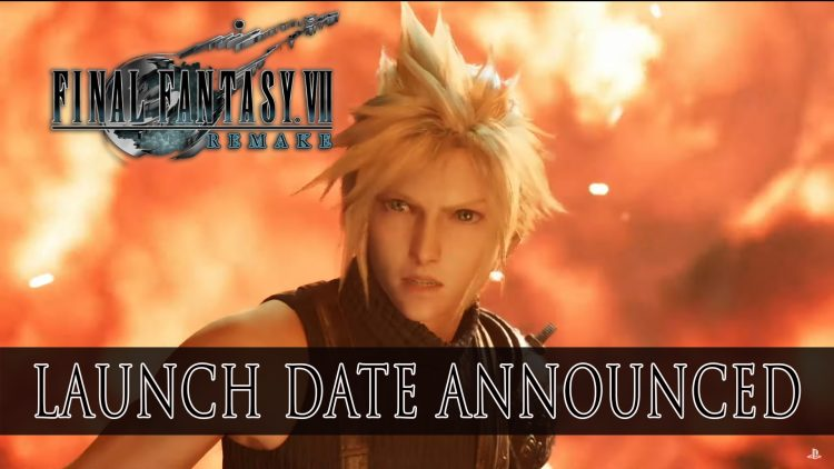 Final Fantasy VII Remake Release Date Announced with New