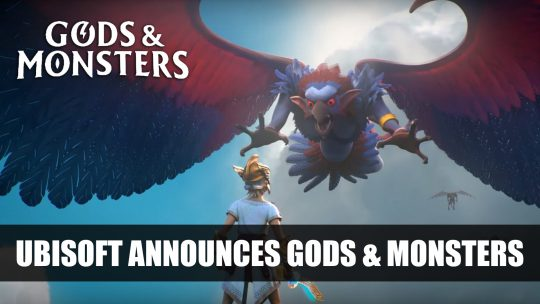Ubisoft Announces Gods & Monsters at E3 2019
