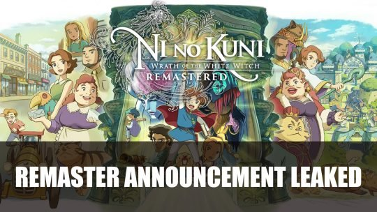 Ni No Kuni: Wrath of the White Witch Remastered Leaked Before E3 2019