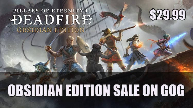 Pillar's of Eternity II: Deadfire on Sale on GOG for $29.99