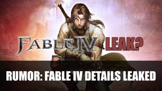 Rumour: Fable IV Details Leaked