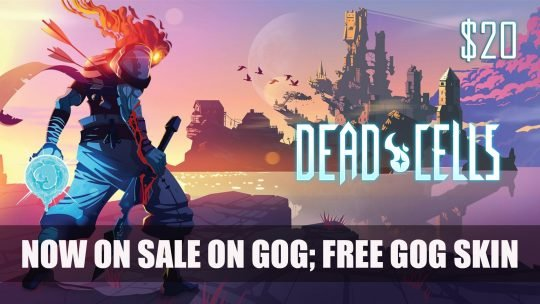Dead Cells Is Now on Sale on GOG; Free GOG Galaxy Skin