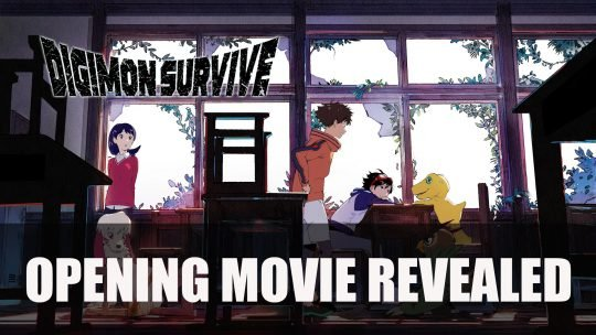 Digimon Survive Opening Movie Uploaded by Bandai Namco